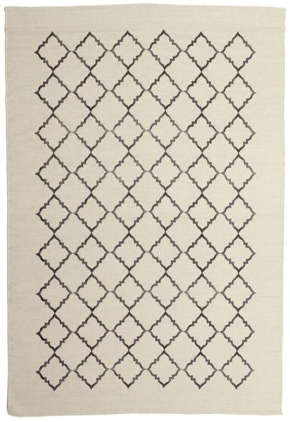 Marjorie - Off White Szőnyeg 200X300 Modern Kézi Szövésű Sötét Bézs/Világosszürke/Bézs (Gyapjú, India)