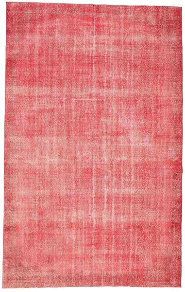 Colored Vintage Szőnyeg 187X298 Modern Csomózású Világos Rózsaszín/Rózsaszín (Gyapjú, Törökország)