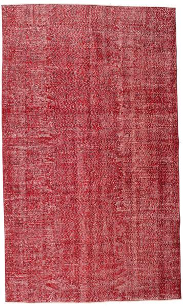 Colored Vintage Szőnyeg 165X279 Modern Csomózású Piros/Rozsdaszín (Gyapjú, Törökország)