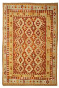 Kilim Afgán Old Style Szőnyeg 197X293 Keleti Kézi Szövésű (Gyapjú, Afganisztán)