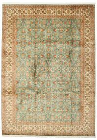 Kashmir Tiszta Selyem Szőnyeg 223X313 Keleti Csomózású (Selyem, India)