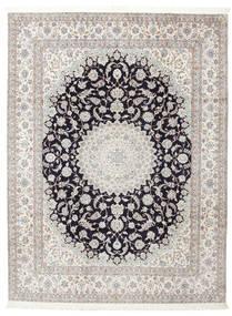 Nain 6La Aláírás: Habibian Szőnyeg 205X271 Keleti Csomózású (Gyapjú/Selyem, Perzsia/Irán)