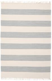 Cotton Stripe - Steel Grey Szőnyeg 140X200 Modern Kézi Szövésű Bézs/Világosszürke (Pamut, India)