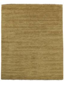 Handloom Fringes - Olívazöld Szőnyeg 200X250 Modern Olívazöld/Barna (Gyapjú, India)