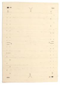 Gabbeh Loom Frame - Off White Szőnyeg 160X230 Modern Bézs/Sötét Bézs (Gyapjú, India)