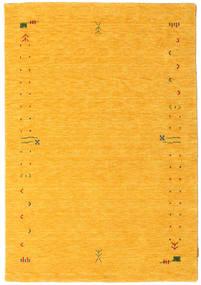 Gabbeh Loom Frame - Sárga Szőnyeg 140X200 Modern Narancssárga (Gyapjú, India)