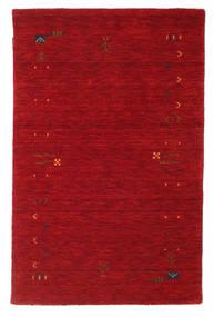Gabbeh Loom Frame - Piros Szőnyeg 100X160 Modern Piros/Sötétpiros (Gyapjú, India)