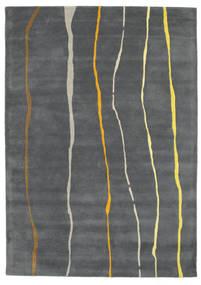 Flaws Handtufted - Szürke Szőnyeg 160X230 Modern Sötétszürke/Világosszürke (Gyapjú, India)