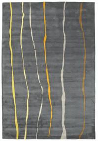 Flaws Handtufted - Szürke Szőnyeg 200X300 Modern Világosszürke/Sötétszürke/Kék (Gyapjú, India)