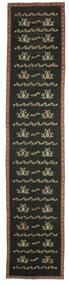Kilim Bulgarian Szőnyeg 174X850 Keleti Kézi Szövésű Sötétszürke (Gyapjú, Bulgária)