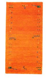 Gabbeh Indiai Szőnyeg 73X143 Modern Csomózású Narancssárga (Gyapjú, India)