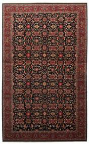Malayer Szőnyeg 505X817 Keleti Csomózású Sötétbarna/Sötétpiros Nagy (Gyapjú, Perzsia/Irán)