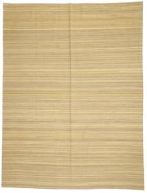 Kilim Modern Szőnyeg 214X285 Modern Kézi Szövésű Sötét Bézs/Bézs (Gyapjú, Afganisztán)