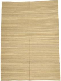 Kilim Modern Szőnyeg 205X280 Modern Kézi Szövésű Sötét Bézs/Világoszöld/Bézs (Gyapjú, Afganisztán)