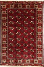 Turkaman Szőnyeg 187X290 Keleti Csomózású Sötétpiros/Sötétbarna (Gyapjú, Perzsia/Irán)
