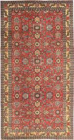 Tabriz Patina Szőnyeg 168X318 Keleti Csomózású Sötétpiros/Világosbarna (Gyapjú, Perzsia/Irán)