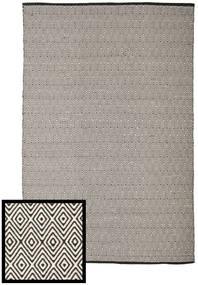 Diamond - Fekete/White Szőnyeg 250X300 Modern Kézi Szövésű Világosszürke/Sötétszürke Nagy (Pamut, India)