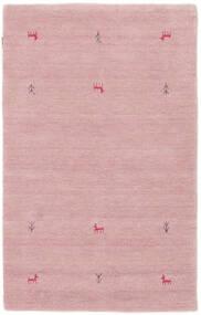 Gabbeh Loom Two Lines - Rózsaszín Szőnyeg 100X160 Modern Világos Rózsaszín (Gyapjú, India)