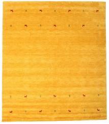 Gabbeh Loom Two Lines - Sárga Szőnyeg 240X290 Modern Sárga/Narancssárga (Gyapjú, India)