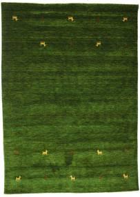 Gabbeh Loom Two Lines - Zöld Szőnyeg 160X230 Modern Sötétzöld (Gyapjú, India)
