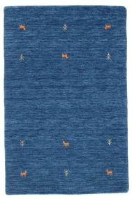 Gabbeh Loom Two Lines - Kék Szőnyeg 100X160 Modern Sötétkék/Kék (Gyapjú, India)