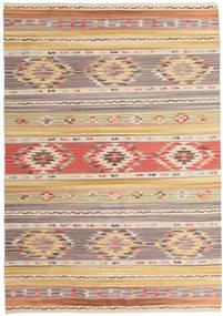 Kilim Nimrud Szőnyeg 160X230 Modern Kézi Szövésű Világosszürke/Sötét Bézs (Gyapjú, India)