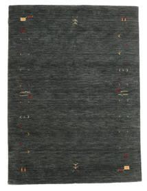 Gabbeh Loom Frame - Sötétszürke/Zöld Szőnyeg 140X200 Modern Sötétzöld/Sötétzöld (Gyapjú, India)