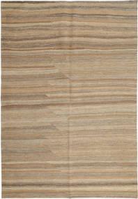 Kilim Modern Szőnyeg 158X239 Modern Kézi Szövésű Világosszürke/Világosbarna (Gyapjú, Perzsia/Irán)