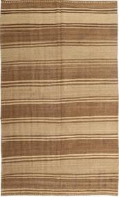 Kilim Modern Szőnyeg 174X289 Modern Kézi Szövésű Világosbarna/Barna/Sötét Bézs (Gyapjú, Perzsia/Irán)