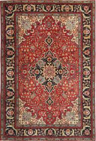 Tabriz Patina Szőnyeg 205X305 Keleti Csomózású Sötétpiros/Sötétbarna (Gyapjú, Perzsia/Irán)
