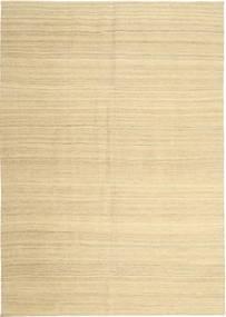 Kilim Modern Szőnyeg 203X290 Modern Kézi Szövésű Bézs/Sárga (Gyapjú, Perzsia/Irán)