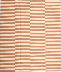Kilim Modern Szőnyeg 229X267 Modern Kézi Szövésű Bézs/Világos Rózsaszín (Pamut, Perzsia/Irán)