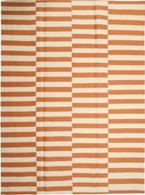 Kilim Modern Szőnyeg 232X315 Modern Kézi Szövésű Bézs/Narancssárga (Gyapjú, Perzsia/Irán)