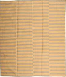 Kilim Modern Szőnyeg 230X270 Modern Kézi Szövésű Sötét Bézs/Világosbarna (Gyapjú, Perzsia/Irán)