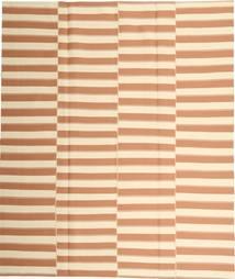 Kilim Modern Szőnyeg 223X260 Modern Kézi Szövésű Bézs/Világosbarna (Pamut, Perzsia/Irán)