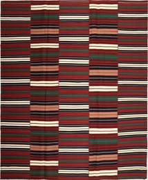 Kilim Modern Szőnyeg 287X350 Modern Kézi Szövésű Sötétpiros/Fekete Nagy (Pamut, Perzsia/Irán)
