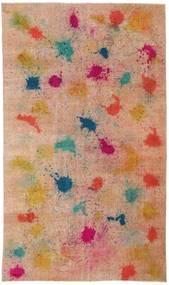 Colored Vintage Szőnyeg 170X286 Modern Csomózású Világosbarna/Sötétpiros (Gyapjú, Törökország)