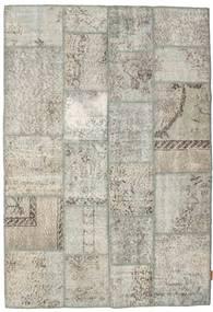 Patchwork Szőnyeg 139X201 Modern Csomózású Világosszürke/Sötét Bézs (Gyapjú, Törökország)
