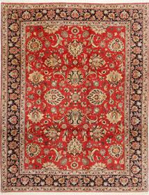 Bijar Szőnyeg 312X402 Keleti Csomózású Rozsdaszín/Sötétbarna Nagy (Gyapjú/Selyem, Perzsia/Irán)
