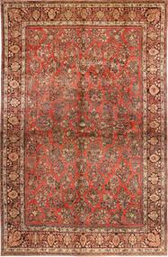 Sarough American Szőnyeg 310X485 Keleti Csomózású Sötétbarna/Rozsdaszín Nagy (Gyapjú, Perzsia/Irán)