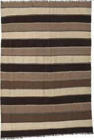 Kilim Szőnyeg 170X250 Keleti Kézi Szövésű Sötétbarna/Barna/Világosszürke (Gyapjú, Perzsia/Irán)