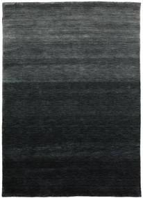 Gabbeh Up To Down Szőnyeg 160X230 Modern Fekete/Sötétzöld (Gyapjú, India)