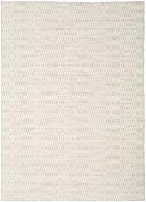 Kilim Long Stitch - Bézs Szőnyeg 210X290 Modern Kézi Szövésű Világosszürke/Bézs (Gyapjú, India)