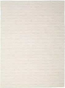 Kilim Long Stitch - Bézs Szőnyeg 290X390 Modern Kézi Szövésű Világosszürke/Bézs Nagy (Gyapjú, India)