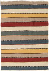 Kilim Szőnyeg 122X184 Keleti Kézi Szövésű Világoskék/Bézs (Gyapjú, Perzsia/Irán)