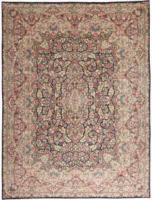 Kerman Szőnyeg 290X387 Keleti Csomózású Világosszürke/Sötétbarna Nagy (Gyapjú, Perzsia/Irán)