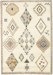 Berber Indiai - Off White/Bézs Szőnyeg 160X230 Modern Csomózású Bézs/Világosbarna (Gyapjú, India)