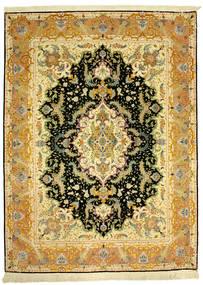 Tabriz 70Raj Silke Varp Szőnyeg 152X205 Keleti Csomózású (Gyapjú/Selyem, Perzsia/Irán)