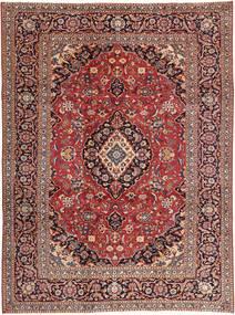 Kashan Patina Szőnyeg 242X333 Keleti Csomózású Sötétpiros/Világosbarna (Gyapjú, Perzsia/Irán)