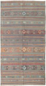 Kilim Törökország Szőnyeg 164X301 Keleti Kézi Szövésű Világosszürke/Rózsaszín (Gyapjú, Törökország)